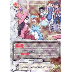 "BFE X-BT03A-UB01/0018EN RR Mission Card ""Adventure Guild, Aibo Academy"""