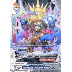 BFE X-BT03A-UB01/0024EN R Demon Lord Chief, Duel Jaeger