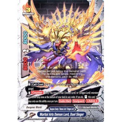 BFE X-BT03A-UB01/0044EN C Martial Arts Demon Lord, Duel Sieger