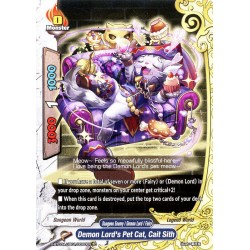 BFE X-BT03A-UB01/0060EN C Demon Lord's Pet Cat, Cait Sith
