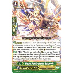CFV G-BT12/025EN R  Excite Battle Sister, Bavarois