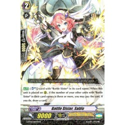 CFV G-BT12/027EN R  Battle Sister, Sable