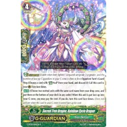 CFV G-BT12/046EN R  Sacred Tree Dragon, Rainbow Cycle Dragon