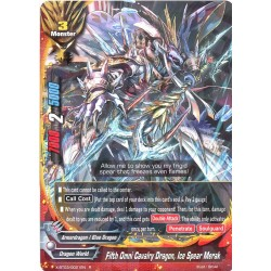 BFE X-BT03/0021EN R Fifth Omni Cavalry Dragon, Ice Spear Merak