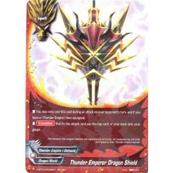 BFE X-BT03/0099EN Secret Thunder Emperor Dragon Shield