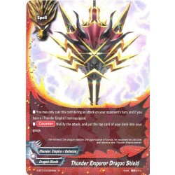 BFE X-BT03/0025EN Foil/R Thunder Emperor Dragon Shield