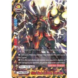 BFE X-BT03/0027EN Foil/R Violent Thunder Evil Demon, Tyrant Demon