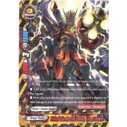 BFE X-BT03/0027EN Foil/R Violent Thunder Evil Demon, Tyrant Demon