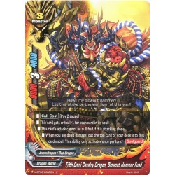 BFE X-BT03/0045EN Foil/U Fifth Omni Cavalry Dragon, Blowout Hammer Fuad