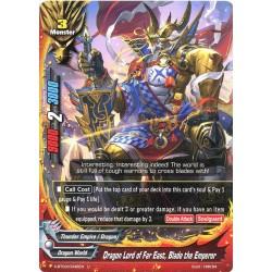 BFE X-BT03/0046EN Foil/U Dragon Lord of the Far East, Blade the Emperor