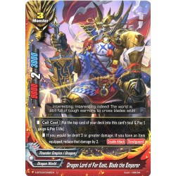 BFE X-BT03/0046EN Foil/U Dragon Lord of the Far East, Blade the Emperor