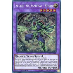 SPWA-EN006 Secret Six Samurai - Rihan / Six Samouraïs Secrets - Rihan