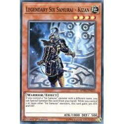 SPWA-EN010 Legendary Six Samurai - Kizan / Six Samouraïs Légendaires - Kizan