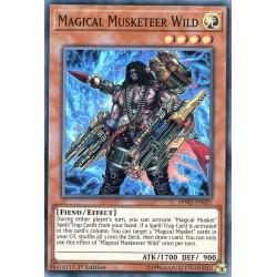 SPWA-EN021 Magical Musketeer Wild / Wild, Magie de Mousquetaire