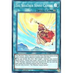 SPWA-EN039 The Weather Sunny Canvas / Peinture Ensoleillée Météorologique