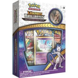 Pokémon - Coffret Pin Collection Légendes Brillantes - Mewtwo