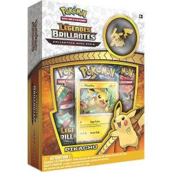 Pokémon - Coffret Pin Collection Légendes Brillantes - Pikachu