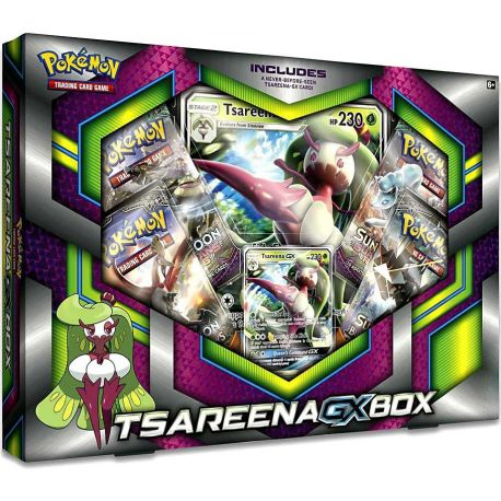 Pokémon - EN - Gx Box - Tsareena-GX