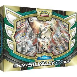 Pokémon - EN - Gx Box - Shiny Silvally-GX