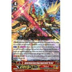 "CFV G-BT13/003EN GR  Supreme Heavenly Emperor Dragon, Dragonic Overlord ""the Purge"""