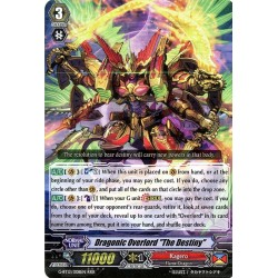 "CFV G-BT13/008EN RRR  Dragonic Overlord ""The Destiny"""