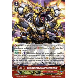 CFV G-BT13/009EN RRR  New Destruction Emperor, Gaia Devastate