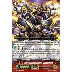 CFV G-BT13/009EN RRR  New Destruction Emperor, Gaia Devastate