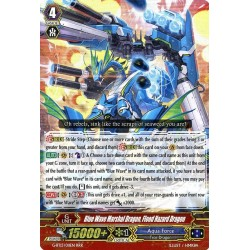 CFV G-BT13/011EN RRR  Blue Wave Marshal Dragon, Flood Hazard Dragon
