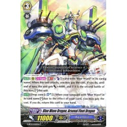 CFV G-BT13/102EN C  Blue Wave Dragon, Arsenal Fleet Dragon