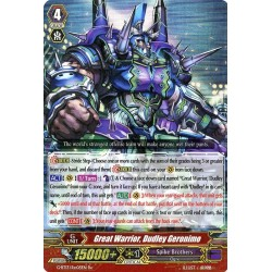 CFV G-BT13/Re:05EN Re-RRR  Great Warrior, Dudley Geronimo