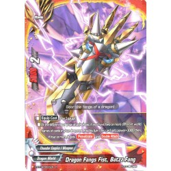 BFE X-BT04/0025EN R Dragon Fang Fist, Batzz Fang