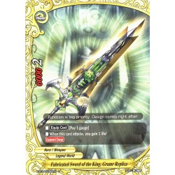 BFE X-BT04/0085EN C Fabricated Sword of the King, Gram Replica