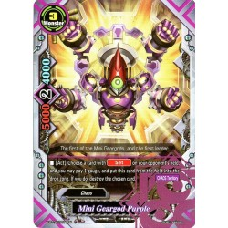 BFE X-BT04/0096EN C Mini Geargod Purple