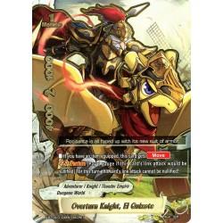 BFE X-BT04/0104EN Secret Overturn Knight, El Quixote