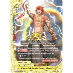 BFE X-BT04/0031EN R/Foil Powerful Battle Deity, Magni