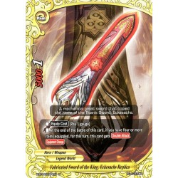 BFE X-BT04/0064EN U/Foil Fabricated Sword of the King, Eckesachs Replica