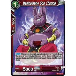BT1-007 C Manipulating God Champa