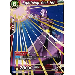 BT1-011 SR Lightning-fast Hit