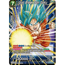 BT1-031 SR God Break Son Goku