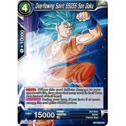 BT1-032 UC Overflowing Spirit SSGSS Son Goku