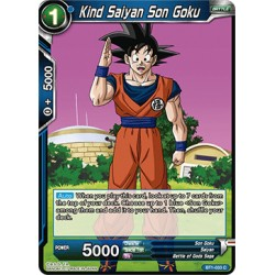 BT1-033 C Kind Saiyan Son Goku