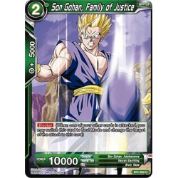 BT1-062 C Son Gohan, Family of Justice