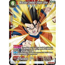 BT2-006 SR Miraculous Comeback Ultimate Gohan