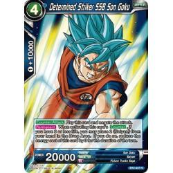 BT2-037 R Determined Striker SSB Son Goku