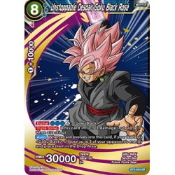 BT2-054 SR Unstoppable Despair Goku Black Rosé