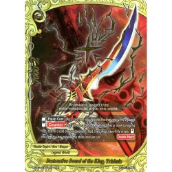 BFE X-CBT-A/0003EN RRR Destructive Sword of the King, Trishula
