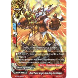 BFE X-CBT-A/0007EN RR Divine Sword Dragon, Saint Glory Sword Dragon