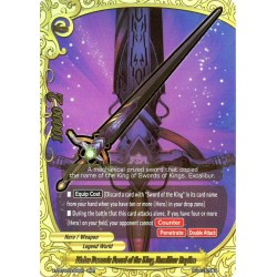 BFE X-CBT-B/0005EN RRR Divine Demonic Sword of the King, Excalibur Replica