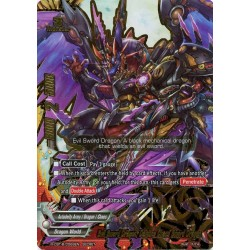 BFE X-CBT-B/0069EN Secret Evil Sword Dragon, Demons Chaos Sword Dragon