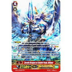CFV G-BT14/SR01EN SCR  Zeroth Dragon of Zenith Peak, Ultima
